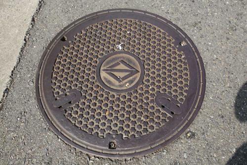 東横フラワー緑道のマンホール5