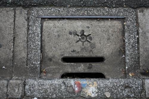 西馬込のマンホール7(路肩排水口2・旧型)