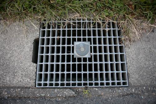 氏家のマンホール2(路肩排水口1)