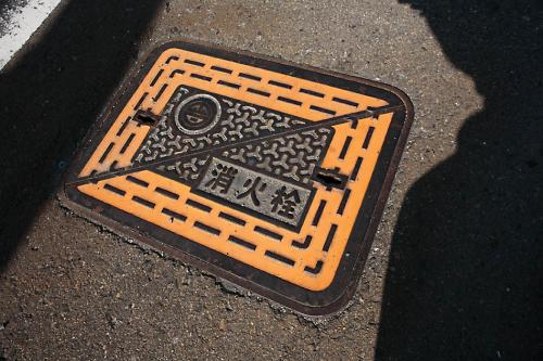 会津若松市のマンホール3(消火栓)