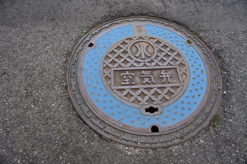 会津若松市のマンホール6(空気弁)