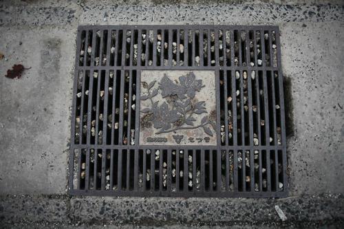 喜多方市のマンホール6(路肩排水口1)