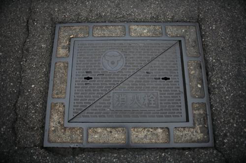 喜多方市のマンホール8(消火栓)