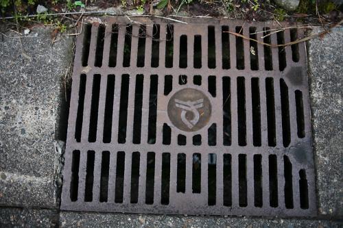 多方市のマンホール9(路肩排水口2)