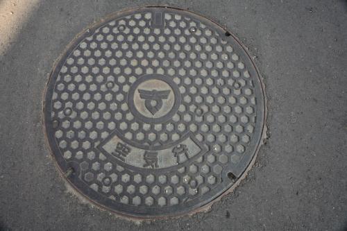 喜多方市のマンホール14(空気弁)