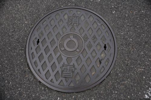 喜多方市のマンホール15(消雪2)