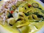 キナバル軒 タイグリーンカレー