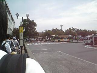 バス順番待ち
