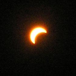 皆既日食 in カッパドキア1