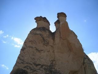 パシャバーの奇岩