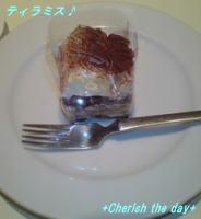 デザートのティラミス♪