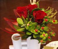 バースデーの花束