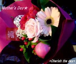 06母の日花束♪