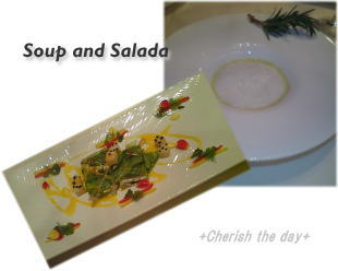 サラダ&スープ☆
