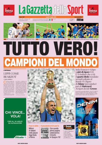 ガゼッタ イタリア 優勝