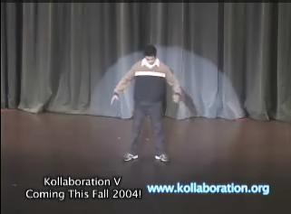 ロボットダンス!