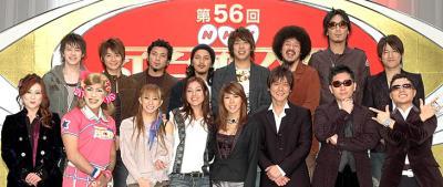 「第56回 NHK紅白歌合戦」