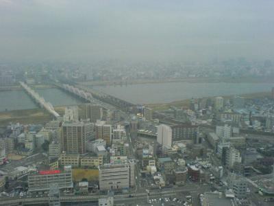 淀川は大きかった…