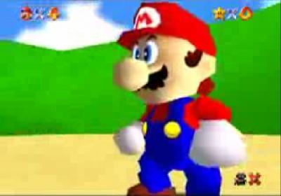 最速マリオ『スーパーマリオ64』ヴァージョン