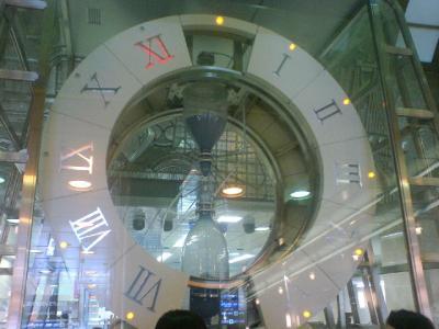 大きな砂時計!