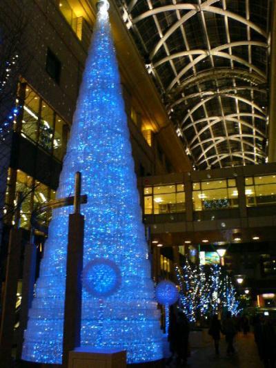 大丸のクリスマスツリー