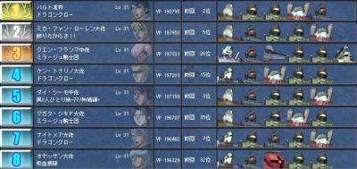 6作戦目ランキング(確定)