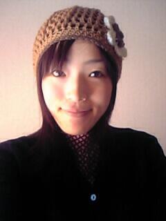毛糸のお帽子