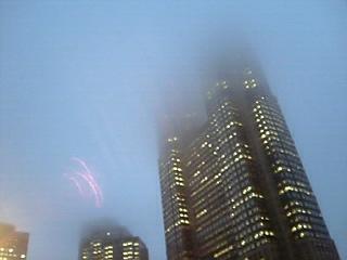 雲隠れ都庁