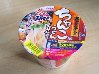 スーパーカップ(ちゃんこ風うどん)