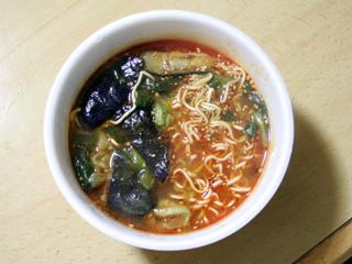 中華三昧(麻婆茄子麺)