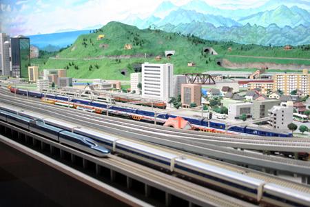 模型鉄道パノラマ
