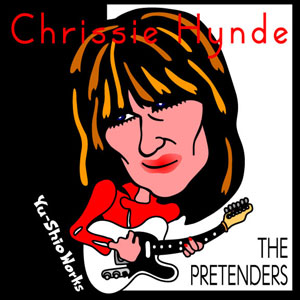 Chrissie Hynde of Pretenders