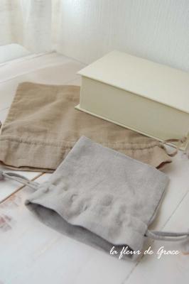 巾着と葉書箱