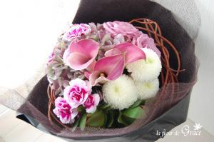 リースの花束1