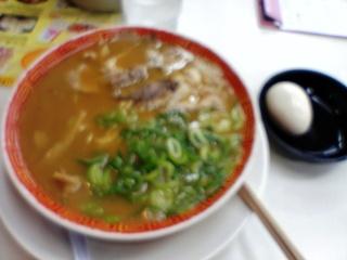 ラーメン並with煮玉子
