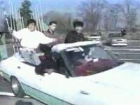 日本のDQNパトカー