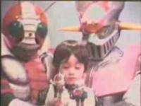 仮面ライダーV3とマジンガーZの競演