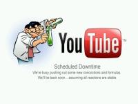 YouTubeメンテ時の画像