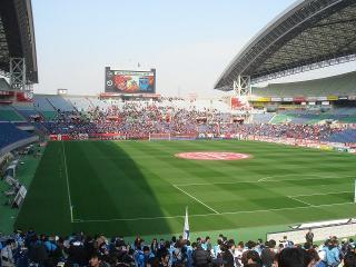 埼玉スタジアム2002 場内