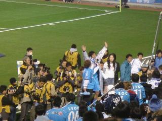 「サポーターMVP」に選ばれた早川選手