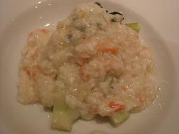 蕪と広東白菜のカニ肉あんかけ