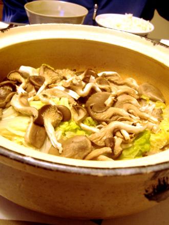 白菜と三枚肉の鍋