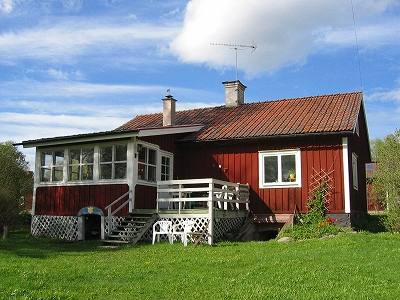huset i sommar