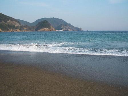 日和佐の大浜海岸!?
