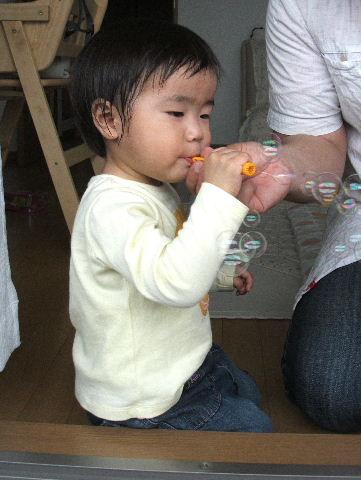 しゃぼん玉!!!