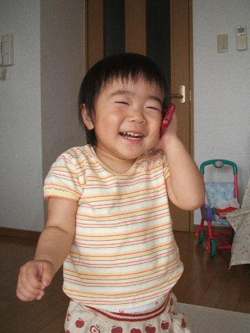 パパとお電話!!!