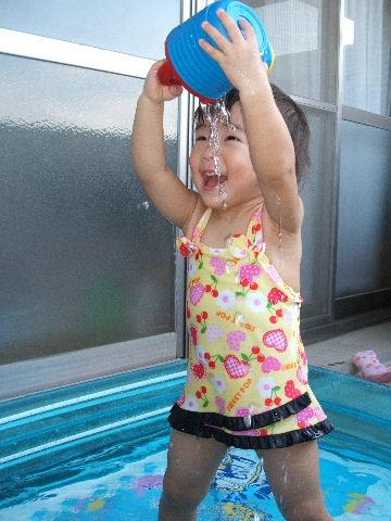 プール♪♪♪②