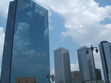 大阪ビジネスパーク近辺。