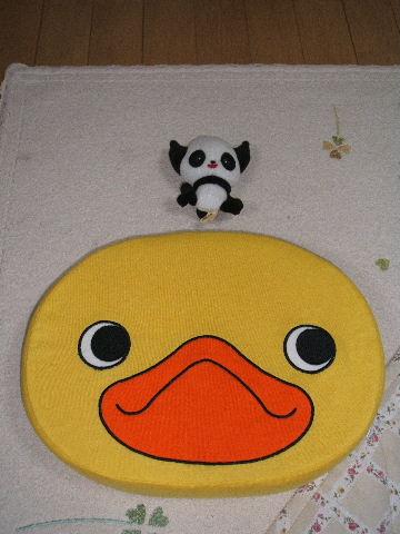パンダとヒヨコ♪♪♪