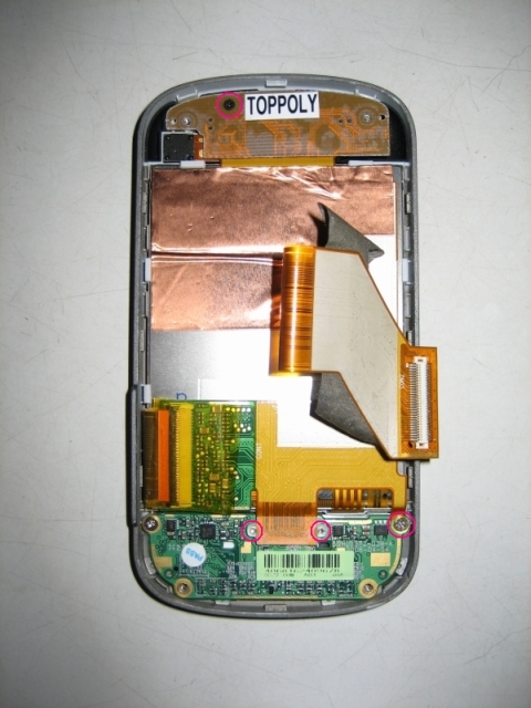 disassemble Dopod CHT9000 HTC TyTN Hermes